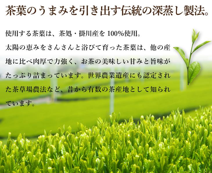 川根茶説明1